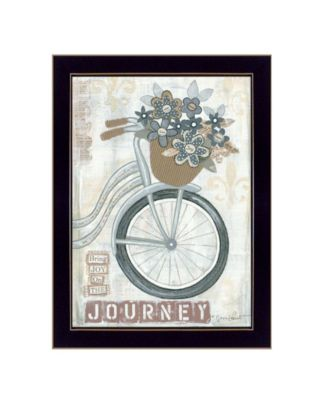 Journey By Annie LaPoint, Printed Wall Art, Ready to hang, Black Frame, 20