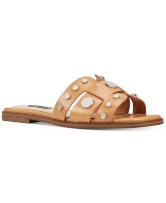 Nine West Gema Studded Slide Sandals