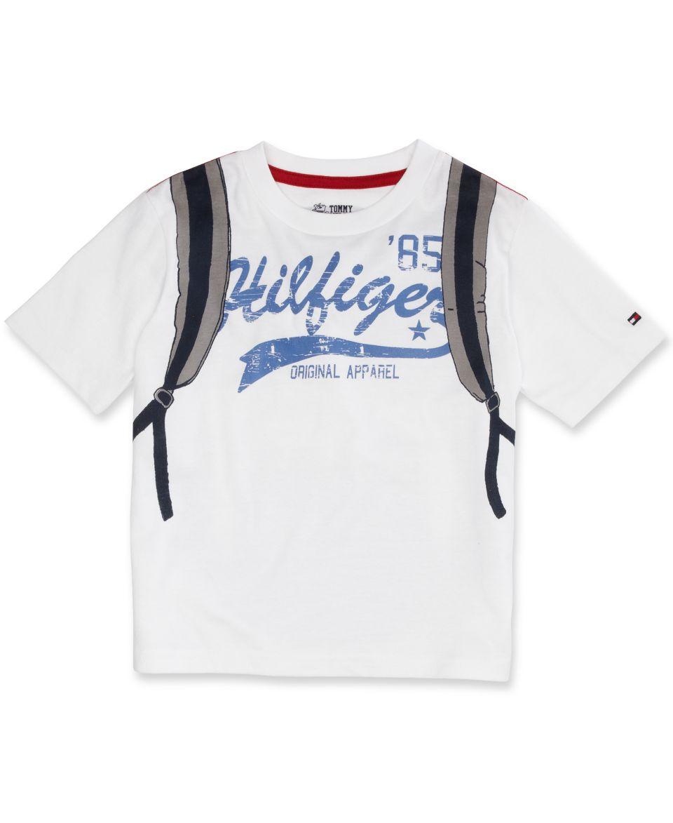 Tommy Hilfiger Kids T Shirt Little Boys Backpack Tee Kids