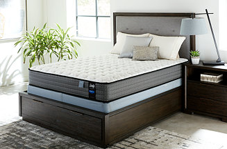 """Sealy Posturepedic Chase Pointe LTD II 11"""" Cushion Firm Mattress Set- Queen Reviews - Mattresses - Macy's"""