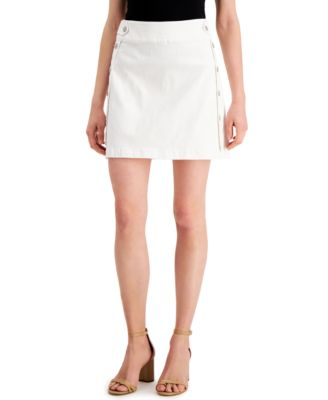 INC Mini Denim Sailor Skirt, Created for Macy