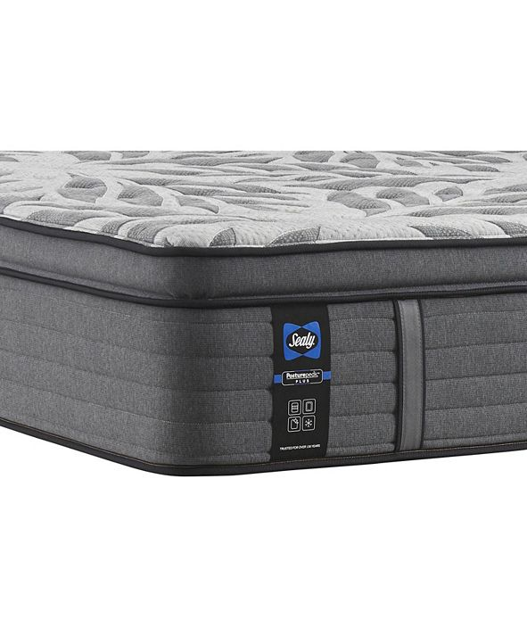 "Sealy Premium Posturepedic Satisfied II 14"" Plush Pillow Top Mattress- King"