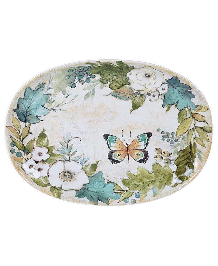 Tracy Porter - Nature Garden Oval Platter