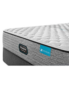 "Beautyrest Harmony Lux Carbon 13.75"" Medium Firm Mattress Set - Queen"