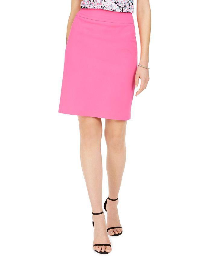 Nine West - Crepe Pencil Skirt