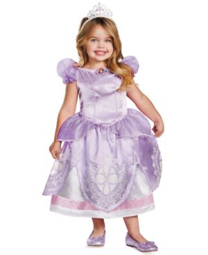 Image of Disguise Kids Costume, Little Girls or Toddler Girls Sofia the First Deluxe Costume