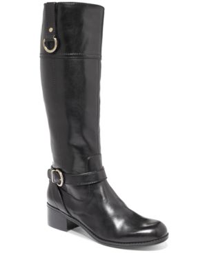 Bandolino Carmine Tall Riding Boots Womens Shoes