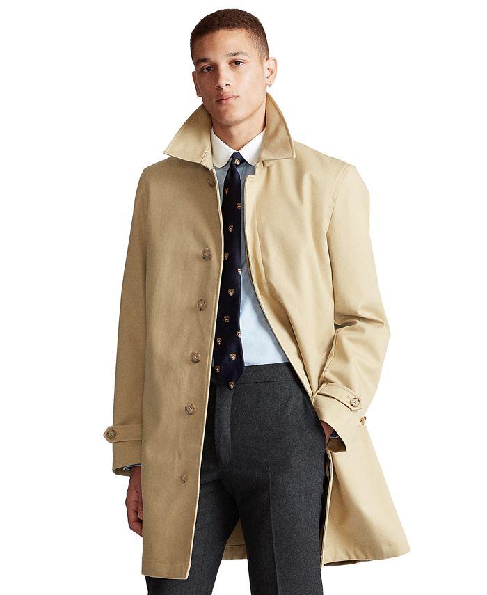 Polo Ralph Lauren - Men's Cotton Gabardine Trench Coat