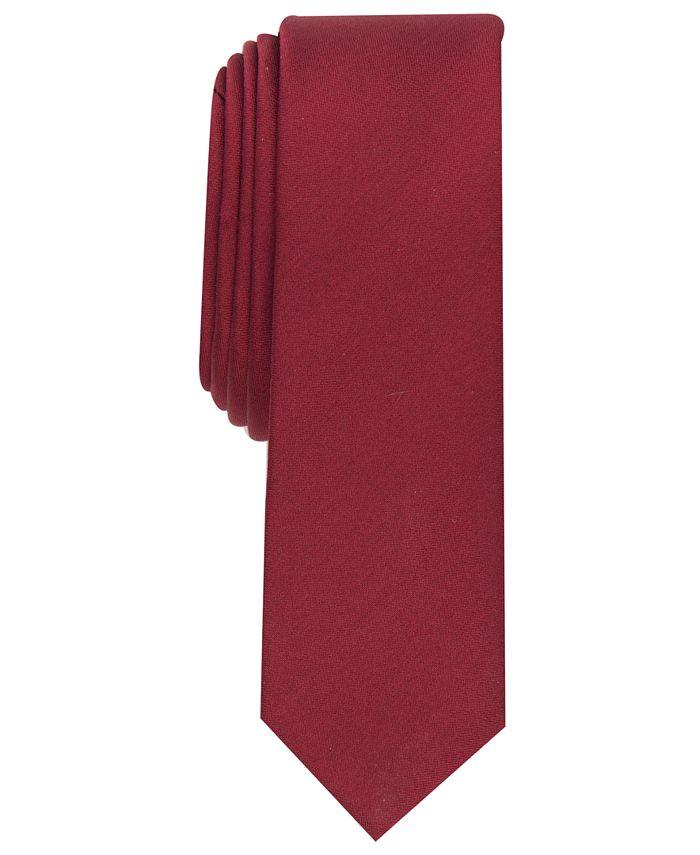 Alfani - Men's Solid Textured Necktie