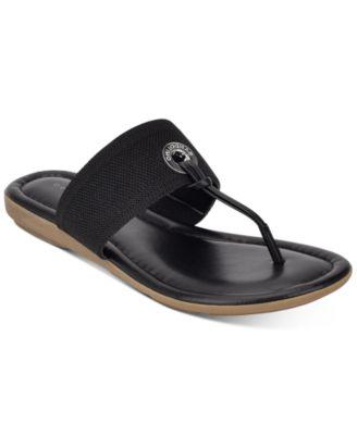 Bandolino Rance T-Strap Flat Sandals