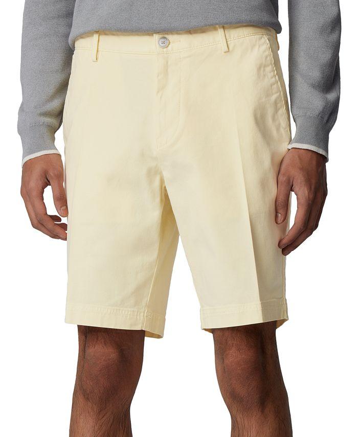 Hugo Boss - Men's Slice Light Pastel Yellow Shorts