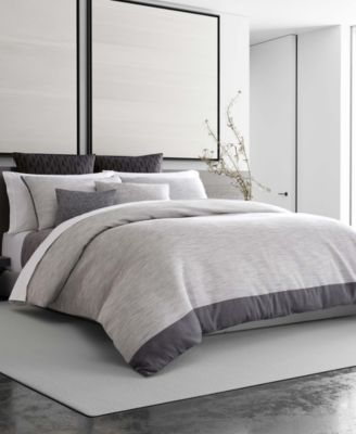 Grisaille Weave Queen Duvet Cover