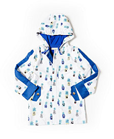 Kinderkind Toddler Boys Printed Microfiber Parka Jacket