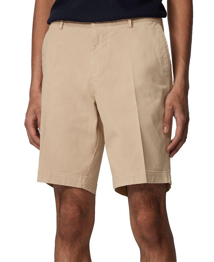 Hugo Boss - Men's Light Beige Slice-Shorts
