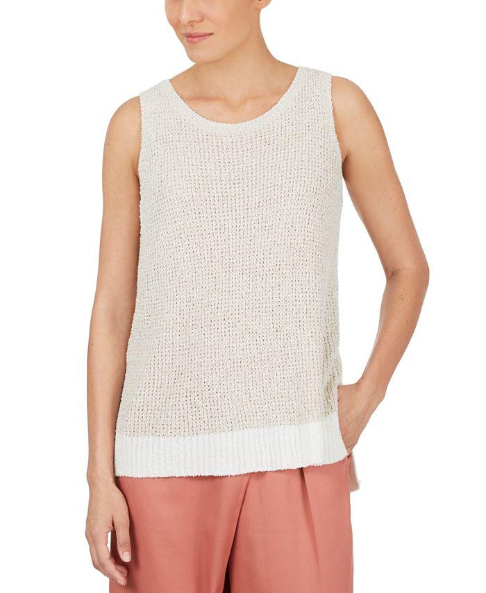 Adyson Parker - Textured Sleeveless Sweater