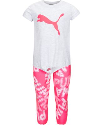 Puma Toddler Girls 2-Pc. Athletic Top