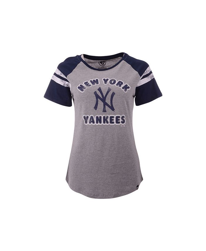 '47 Brand - New York Yankees Women's Fly Out Raglan T-shirt