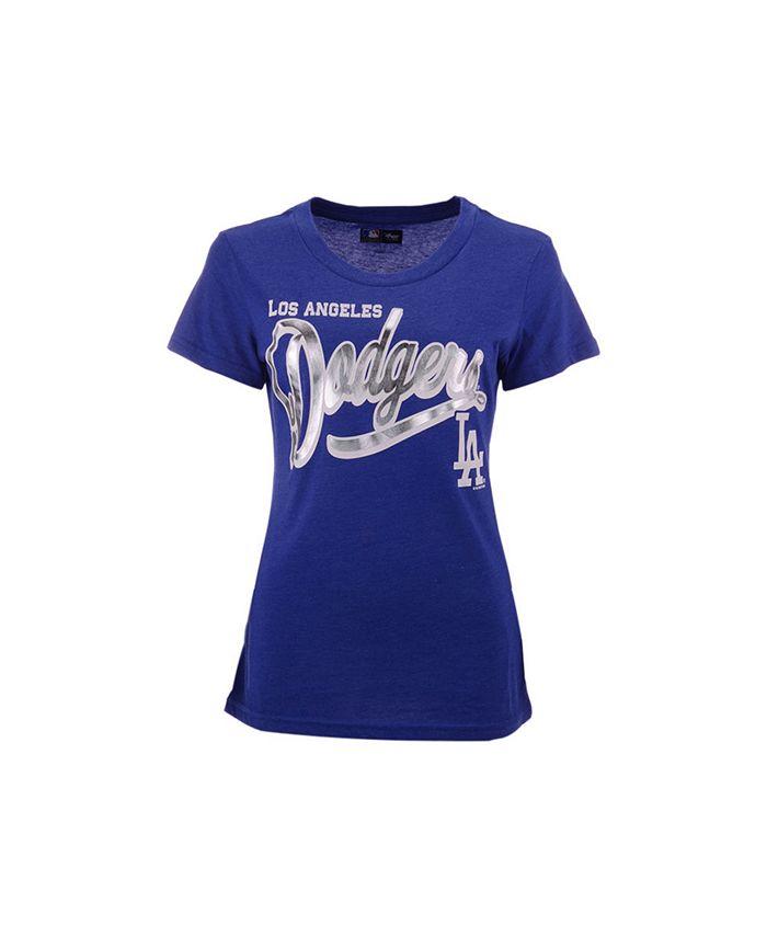 G-III Sports - Women's Los Angeles Dodgers Homeplate T-shirt