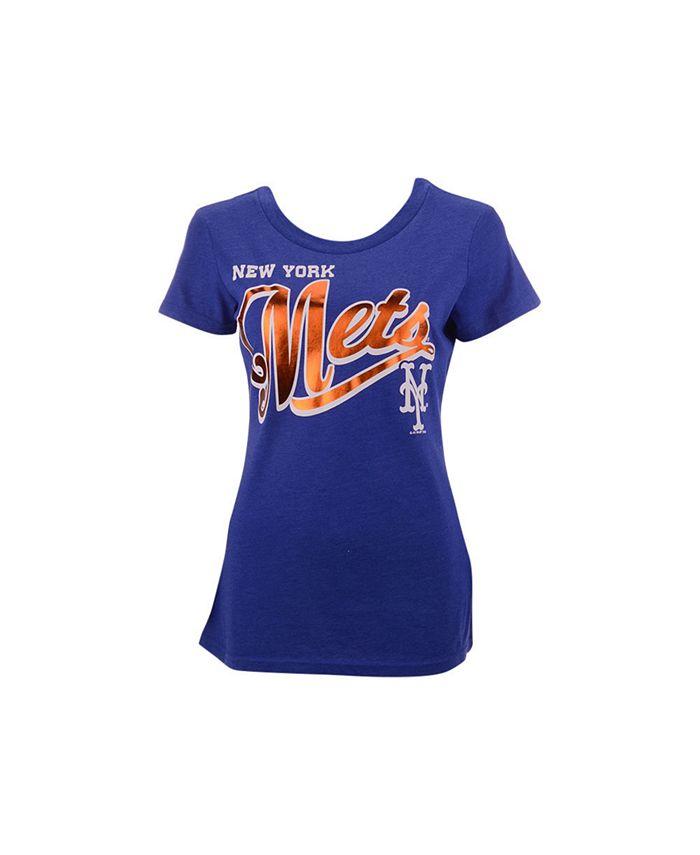 G-III Sports - Women's New York Mets Homeplate T-shirt