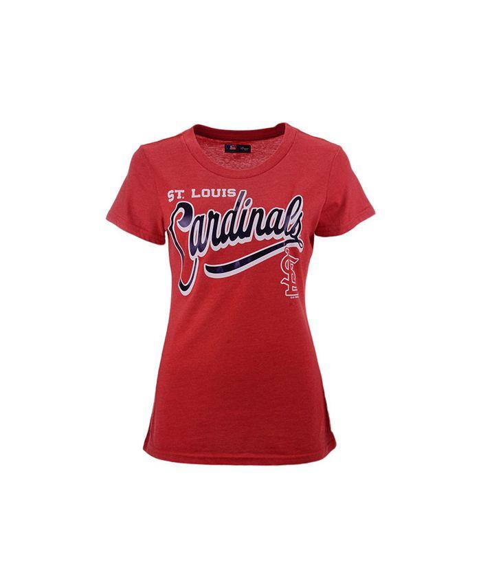 G-III Sports - St. Louis Cardinals Women's Homeplate T-Shirt
