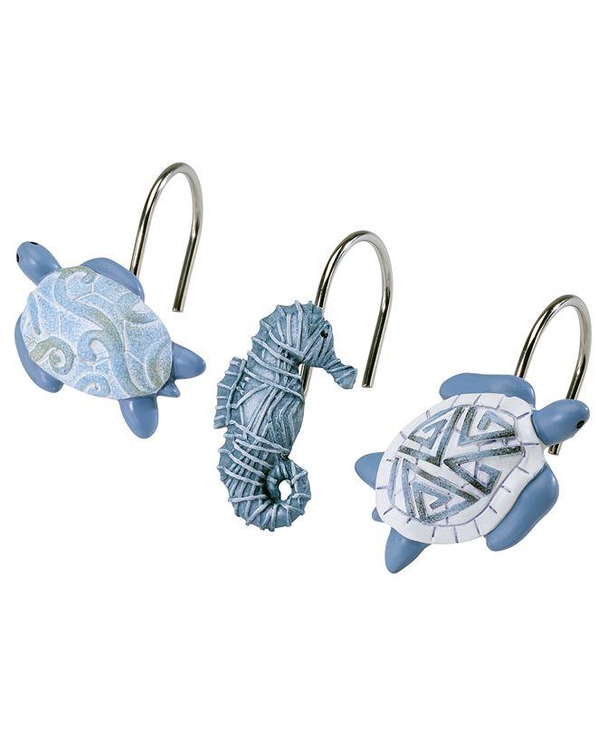 Avanti Caicos Shower Hooks, Set of 12