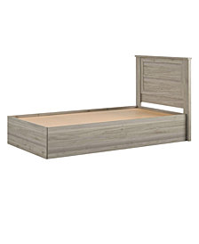Little Seeds Sierra Ridge Levi Bed with Storage and Twin Headboard, Twin