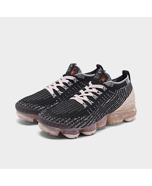 Nike Women's Air VaporMax Flyknit 3 Running Sneakers from ...