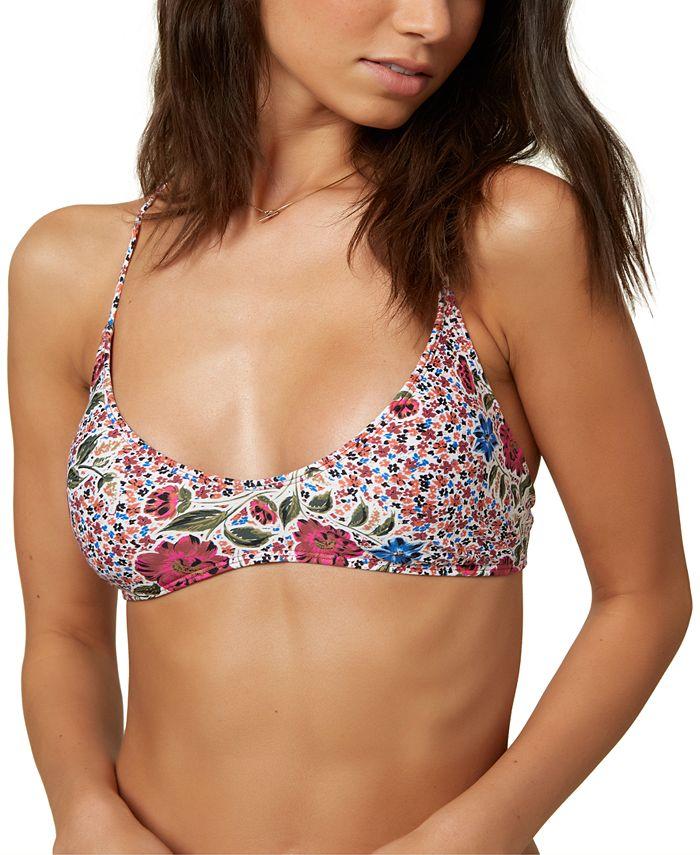 O'Neill - Juniors' Printed Bralette Bikini Top
