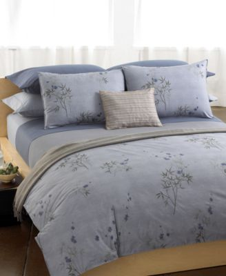 Calvin Klein Bamboo Flowers King Fitted Sheet