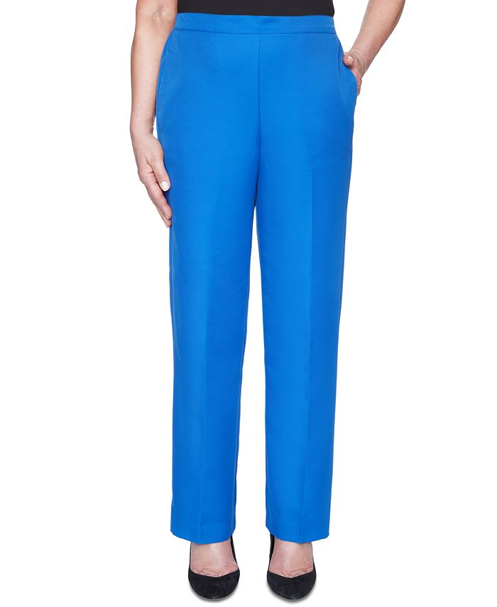 Alfred Dunner - Petite Look On The Bright Side Pull-On Pants