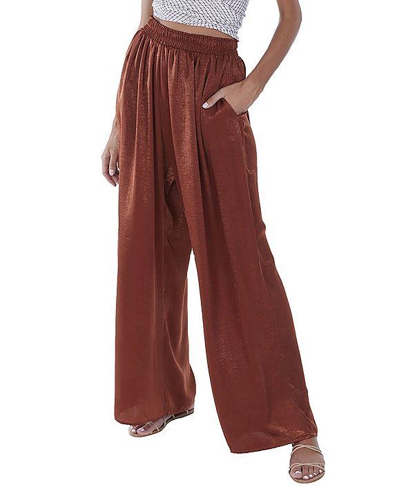 ALLISON NEW YORK Women's Wide Leg Trousers