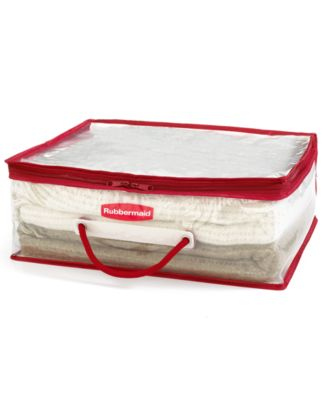 Rubbermaid Small Storage Flex Tote