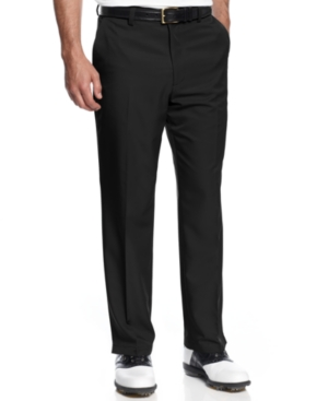 Greg Norman for Tasso Elba 5 Iron Slim-Fit Golf Pants $39.98 AT vintagedancer.com