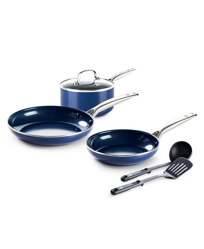 Blue Diamond - Ceramic Nonstick 6-Pc. Cookware Set