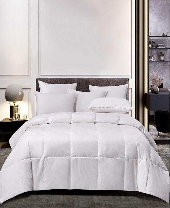 Scott Living Natural Blend Feather & Down Light Warmth Comforter, Full/Queen