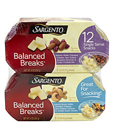 Sargento Balanced Breaks, 12 Count