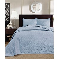 Madison Park Quebec 2-Piece Twin Quilted Bedspread Set