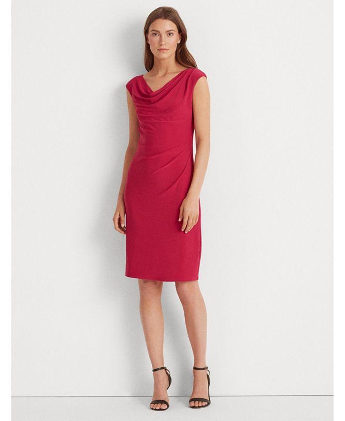 Lauren Ralph Lauren - Jersey Cowlneck Dress