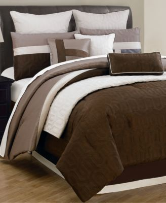 CLOSEOUT Fairmont 10 Piece Queen forter Sets Bed in