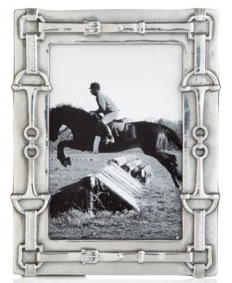 "Arthur Court Picture Frame, Equestrian 4"" x 6"""