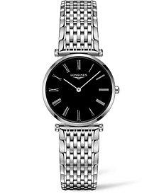 Longines Women's Swiss La Grande Classique De Longines Stainless Steel Bracelet Watch 29mm