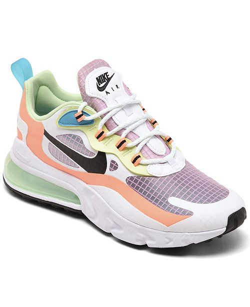 Esquiar Durante ~ lapso  Nike Women's Air Max 270 React SE Casual Sneakers from Finish Line & Reviews  - Finish Line Athletic Sneakers - Shoes - Macy's