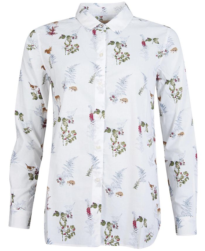 Barbour - Ingham Nature Print Shirt