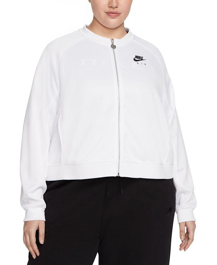 Nike - Plus Size  Air Zip-Front Logo Jacket