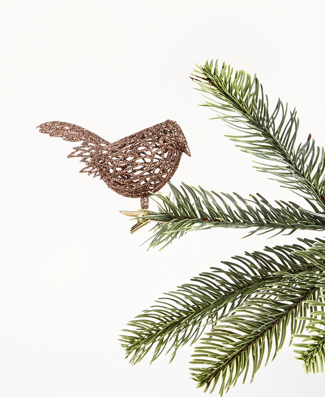 Holiday Lane Birds & Boughs Bird Clip-On Ornament, Created for Macy's