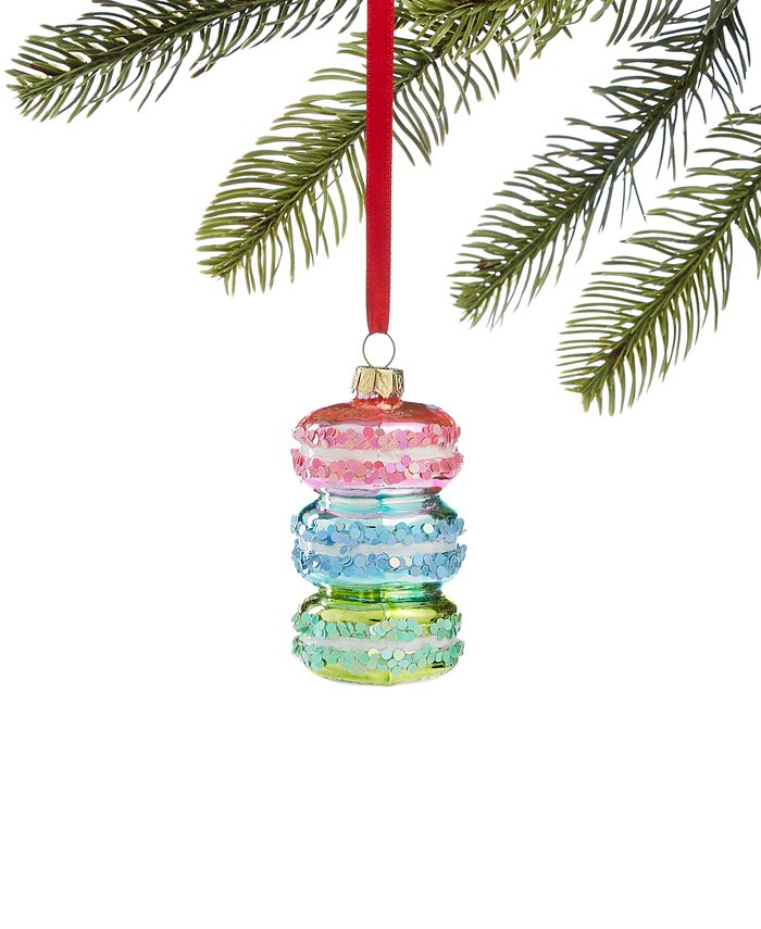 Holiday Lane - Sweet Tooth Stacked Macaroon Ornament