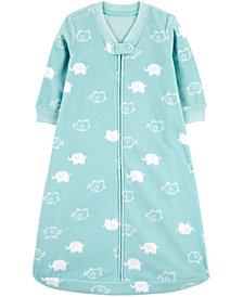 Carter's Baby Boys or Girls Cloud-Print Fleece Sleep Bag