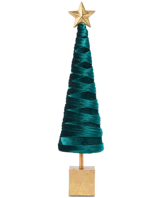 Holiday Lane Evergreen Dreams Tabletop Tree, Created for Macy's