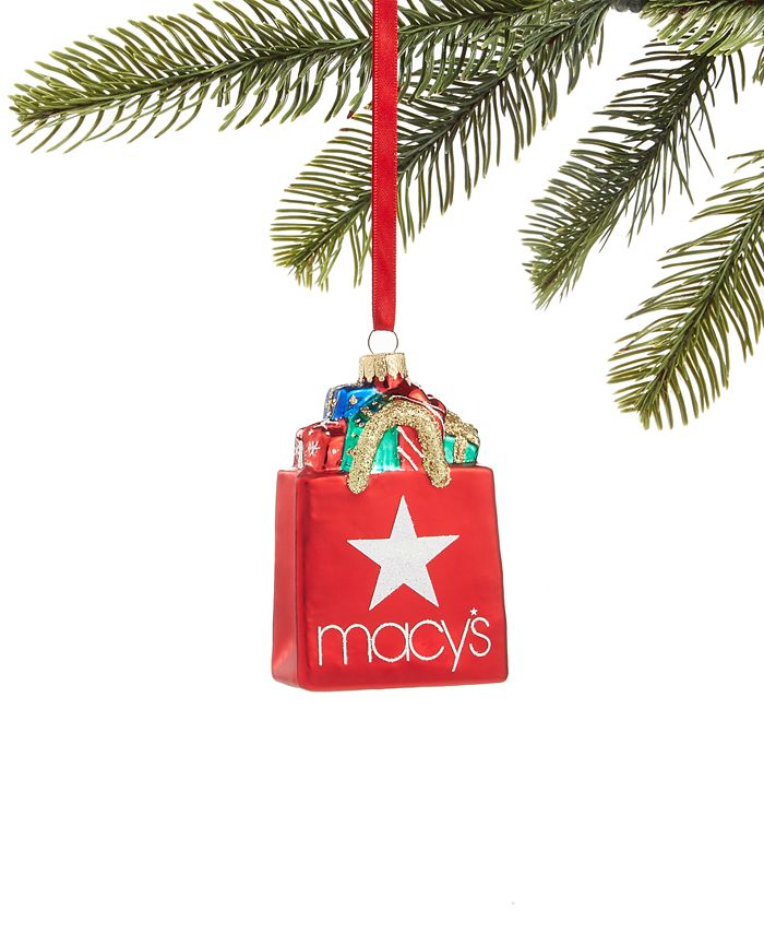 Holiday Lane - Macy's Shopping Bag Ornament