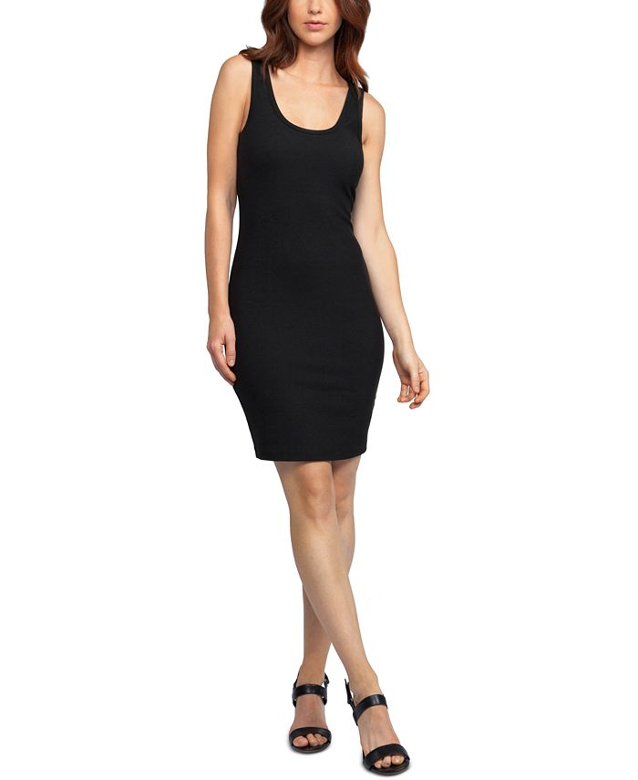 Black Tape - Juniors' Ribbed Bodycon Dress